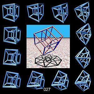 A négydimenziós hiperkocka titka