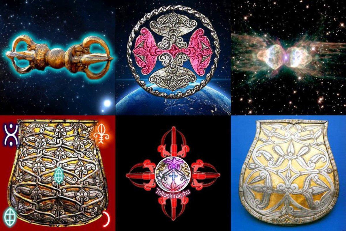 Ősi kultúrák rejtett összefüggései, szimbólumok jelentése 3-dimenzióban