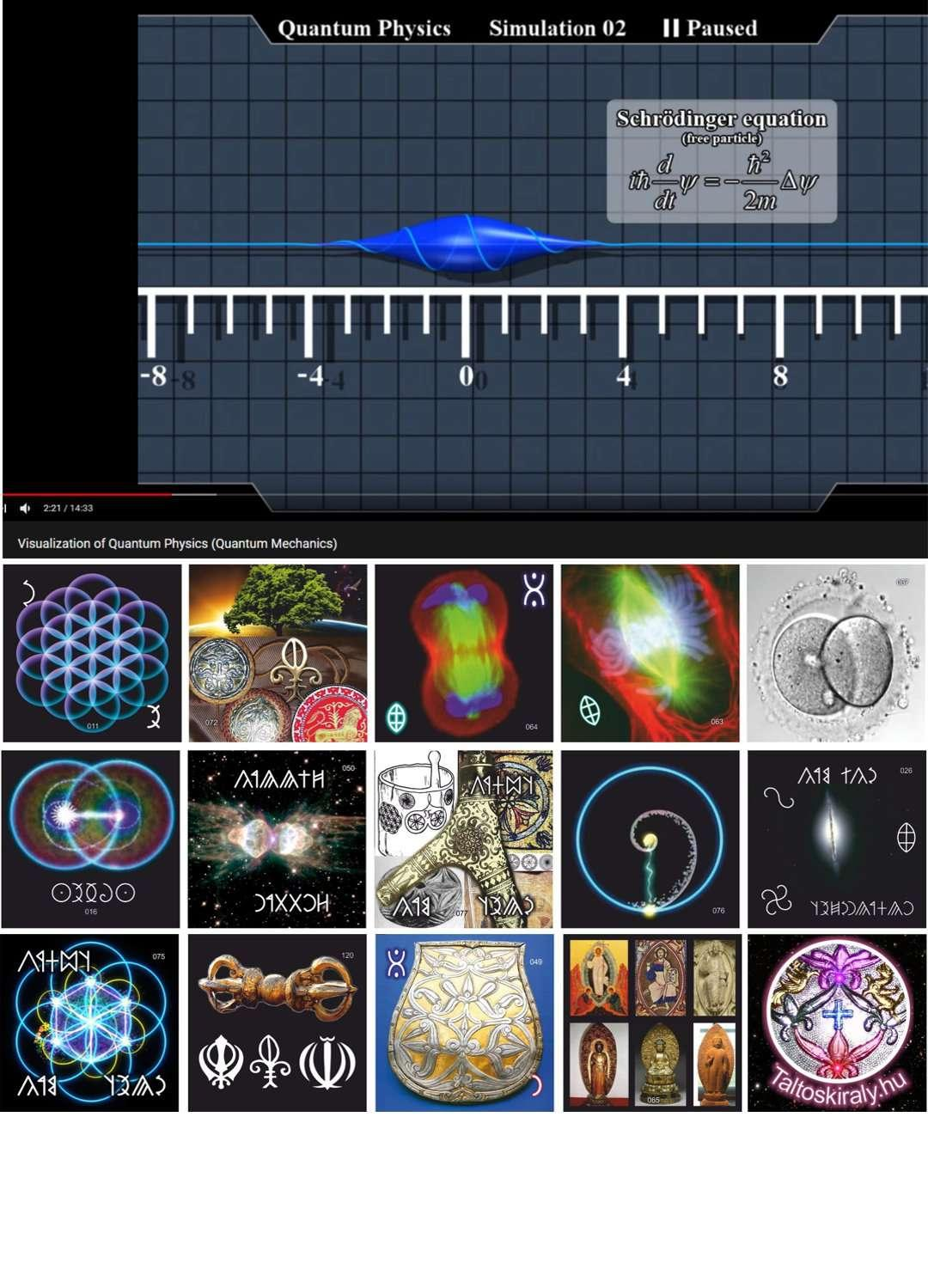 A kvantumfizika és az ősi tudomány találkozása