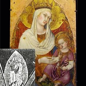 Szűz Mária és Jézus a szakrális geometriában - Teremtés második nap